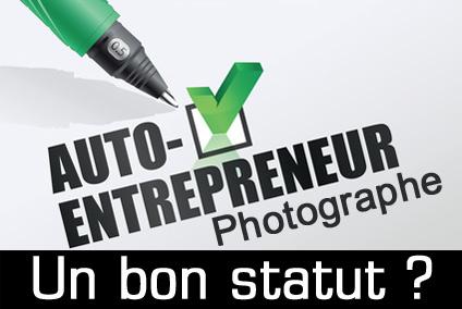 Photographe auto entrepreneur / micro entrepreneur: un statut adapté ?