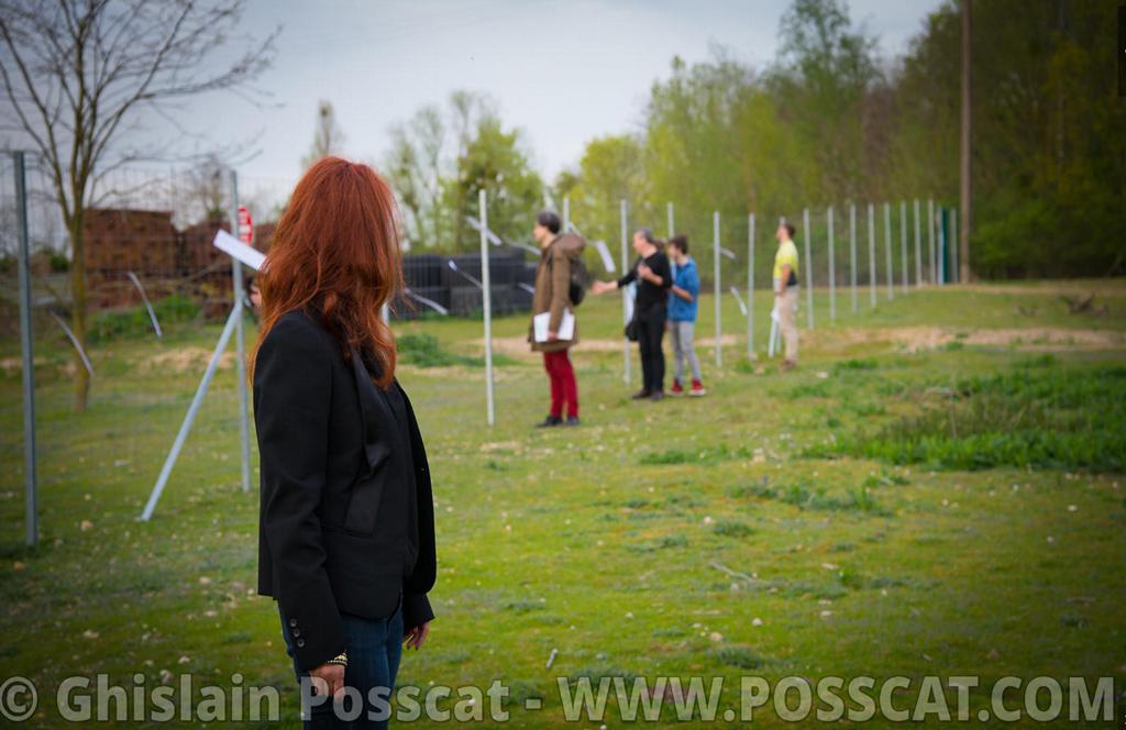 Chateau ephémère - Simona Polvani - Damiano Meacci - photo de l'after work #14 au chateau ephemere de carrieres sous poissy